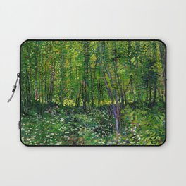 Vincent Van Gogh Trees and Undergrowth 1887 Laptop Sleeve