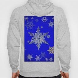 """MORE BLUE SNOW"" BLUE WINTER ART DESIGN Hoody"