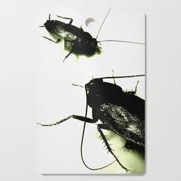 Evil Toxic Cockroaches Cutting Board