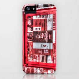 Arsenal FC Emirates Stadium Programme Booth iPhone Case