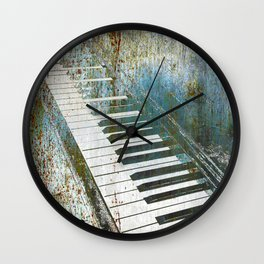Piano Piano Wall Clock