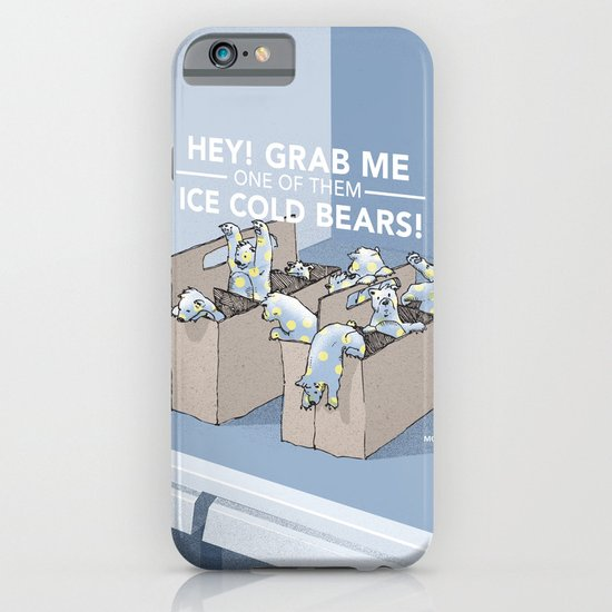 Ice Cold Bears iPhone & iPod Case
