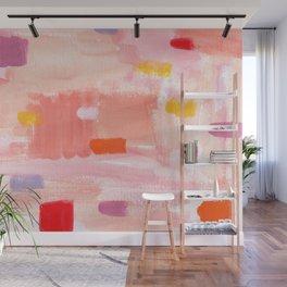 Put Sorrows In A Jar - abstract modern art minimal painting nursery Wall Mural