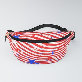 Stripes and Stars Fanny Pack