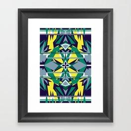 Focus on Symmetry Framed Art Print