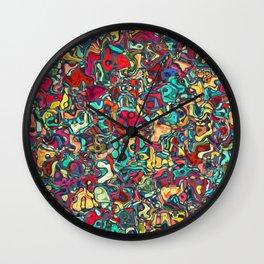 Abstract R4 Wall Clock
