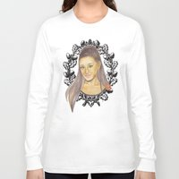 ariana grande Long Sleeve T-shirts featuring Ariana II by Share_Shop