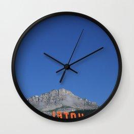 Chamonix hotel Wall Clock