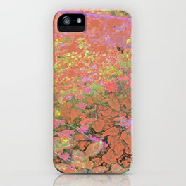 Flower/Fence 2 iPhone Case