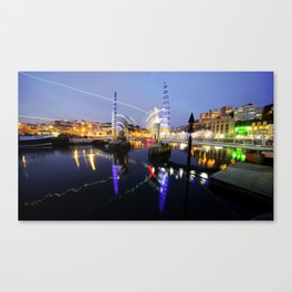 Torquay Harbour Bridge  Canvas Print