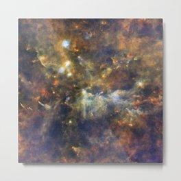 Constellation Vulpecula Little Fox Metal Print