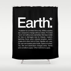 Earth.* Available for a limited time only. Shower Curtain