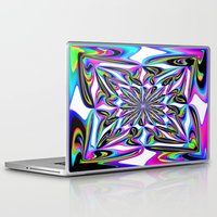 ornate Laptop & iPad Skins featuring Ornate by David  Gough