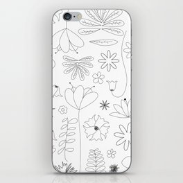 Miscellaneous flowers iPhone Skin