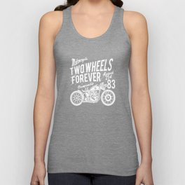 Motorcycle Motorcyclist Motorcycle Machine Moped Unisex Tank Top