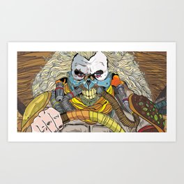 Immortan Art Print