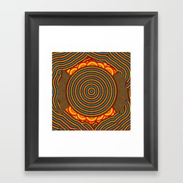 a dirty mind is a joy forever. Framed Art Print