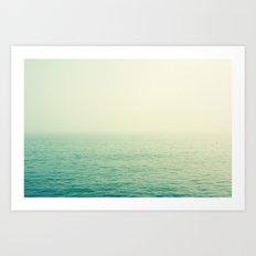 English Channel Art Print