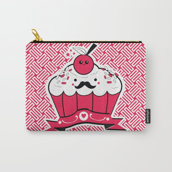 Hipster Cupcake Carry-All Pouch