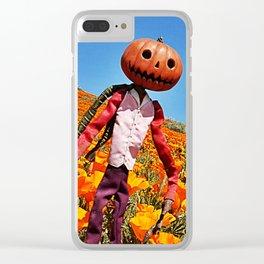Jack Pumpkinhead Clear iPhone Case