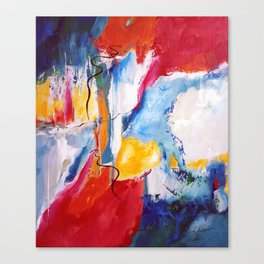Come Down Isaiah 64 Christian Abstract Canvas Print