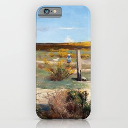 Arthur Streeton - Early Summer, Gorse In Bloom - Digital Remastered Edition iPhone Case