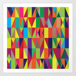 Geometric No. 10 Art Print