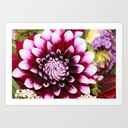 Hannah's Flower #1 Art Print