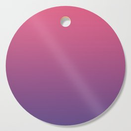 Bright Pink Ultra Violet Gradient | Pantone Color of the year 2018 Cutting Board