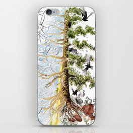The Woods and The Water iPhone Skin