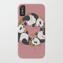 Panda dreams iPhone Case