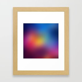 Blur Space IV Framed Art Print