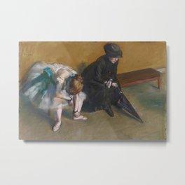 Edgar Degas Ballet Painting Metal Print