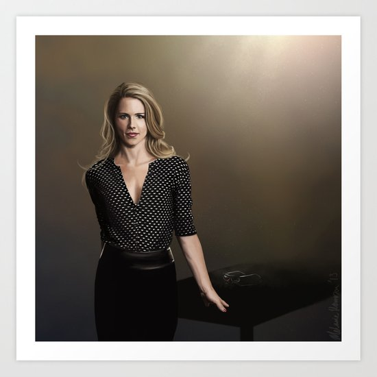 Ms Smoak - Arrow SQ Art Print