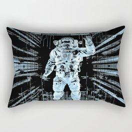 Data Horizon Rectangular Pillow