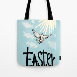 Easter dove Tote Bag