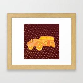 Vinatge C Framed Art Print