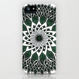 Celtspikes iPhone Case
