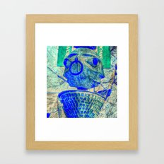 2 faced Framed Art Print