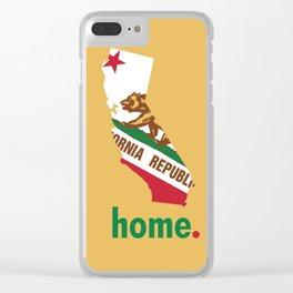 California Proud Clear iPhone Case