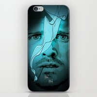 jesse pinkman iPhone & iPod Skins featuring Jesse Pinkman by Guillaume Vasseur