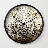 batik Wall Clocks featuring BATIK by ED design for fun