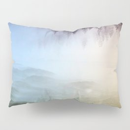 flipped forest Pillow Sham