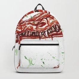 Crocodile Skull Backpack