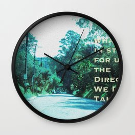 What Will Become of Us Wall Clock