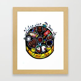 Life is a Box of Chocolates Framed Art Print