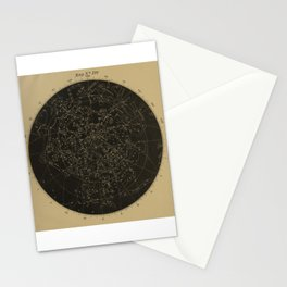 Vintage Astronomy Constellations Star Map Stationery Cards