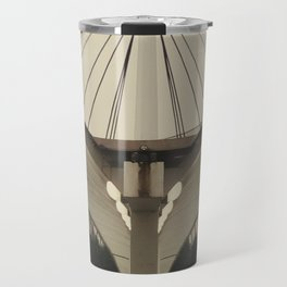 Symmetric architecture Travel Mug