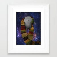 fandom Framed Art Prints featuring Eternal Fandom by Adiposean Artwork