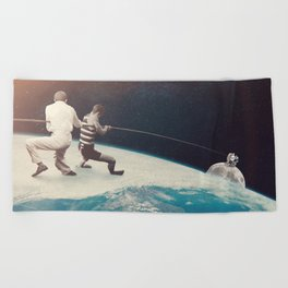 Orbit Beach Towel
